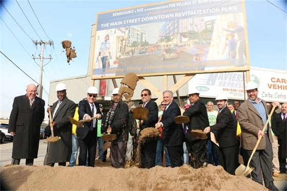 Redevelopment Ground Breaking Ceremony
