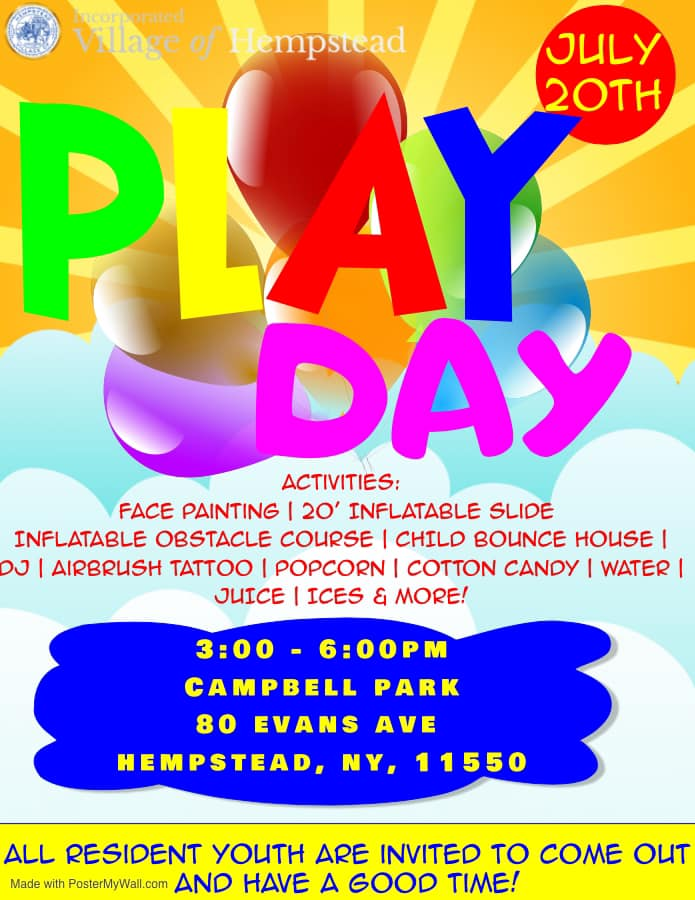 Play Day Campbell Park 2019